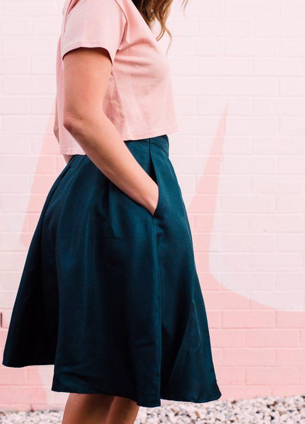 Valley Seed Aline Skirt