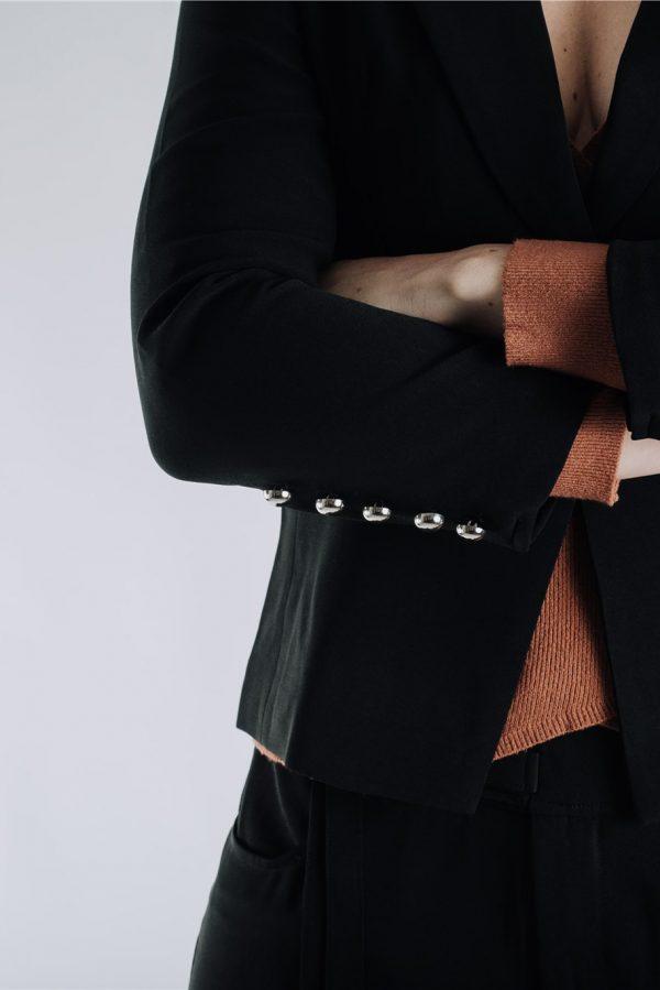 Black Jacket for Curvaceous Women