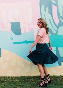 Valley Seed Aline Petite Pear Skirt