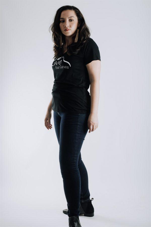Joy Curve Jeans for petite pear shaped women