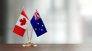 Canadian and Australia
