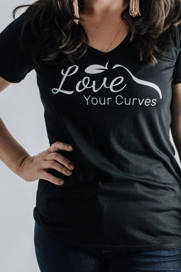 Ladies Love Your Curves Cotton Shirt