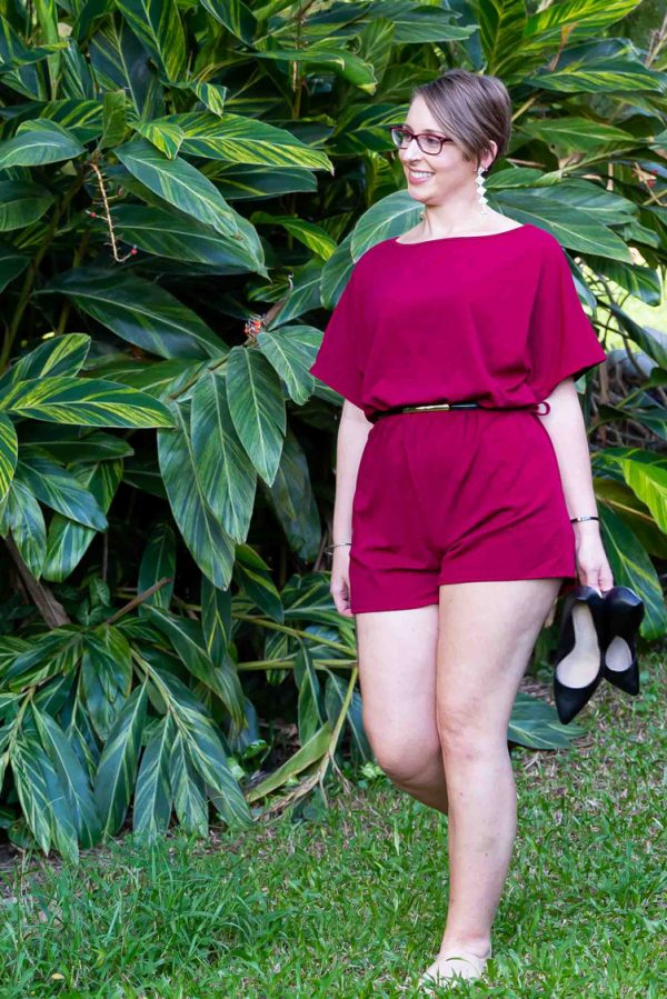Jumpsuit for Pear Shaped and Curvaceous Women
